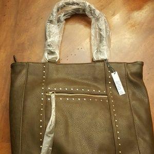 NWT Linea Pelle FAUX Leather Studded Purse